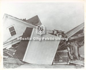 Homes Destroyed by '62 Storm